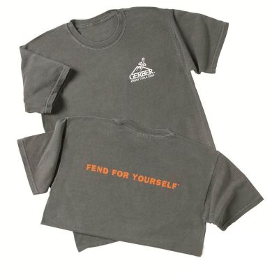 GERBER - Gerber Logo Baskılı Tişört (22-32003)