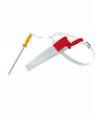 IVO CUTELARIAS LDA - Ivo 41003 EuroProfessional 6lı Kırmızı Kasap Bıçağı Seti
