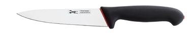 IVO CUTELARIAS LDA - Ivo 93079.13.01 DuoPrime 13cm Kemik Sıyırma Bıçağı Siyah/Kırmızı