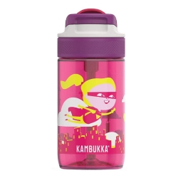 Kambukka Lagoon Çocuk Matarası 400ml, Fliying Supergirl - Thumbnail