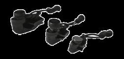 MUNKEES - Munkees 7067 Üçlü Siyah Fermuar Tamir Aparatı